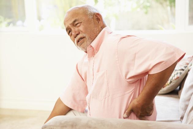 Bệnh đau lưng ở người cao tuổi