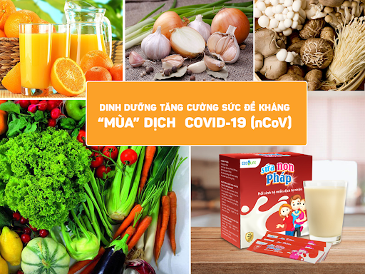 dinh duong covid