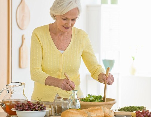 ăn uống lành mạnh người cao tuổi