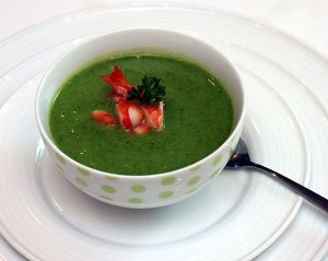 thuc don cho be: sup tom bo xoi